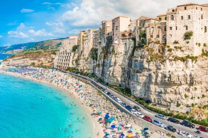 Most beautiful beaches in Italy - Tropea's cliff