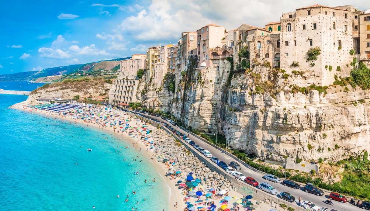 Spiagge più belle d'Italia - La scogliera di Tropea