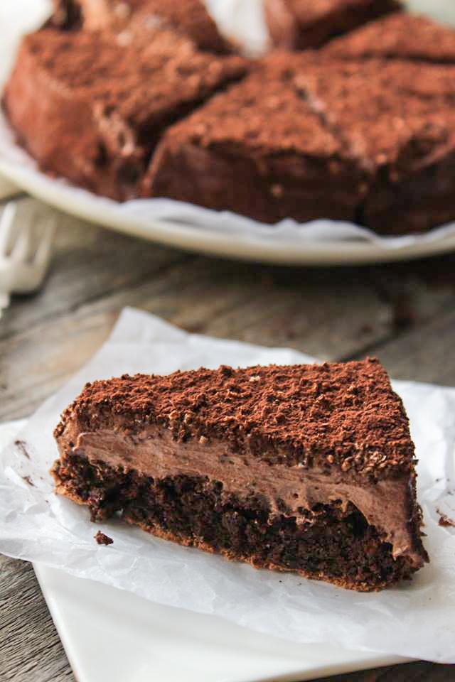 Extreme chocolate cake - fetta di torta al cioccolato
