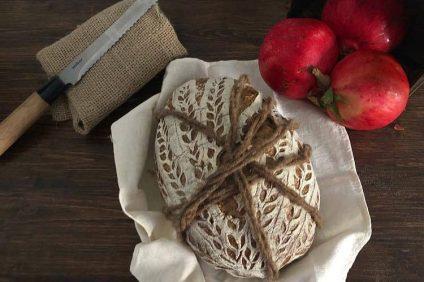 pane multicereali visto dall'alto