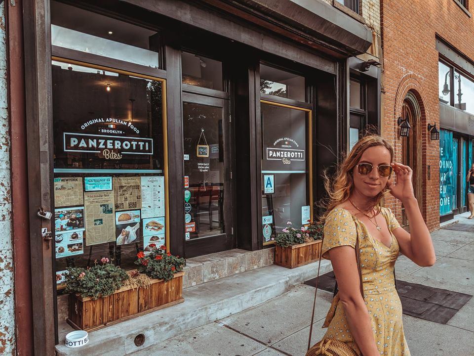 The local Panzerotti Bites in Brooklyn
