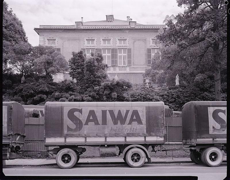 saiwa svolta italiana - foto di un furgone della Saiwa