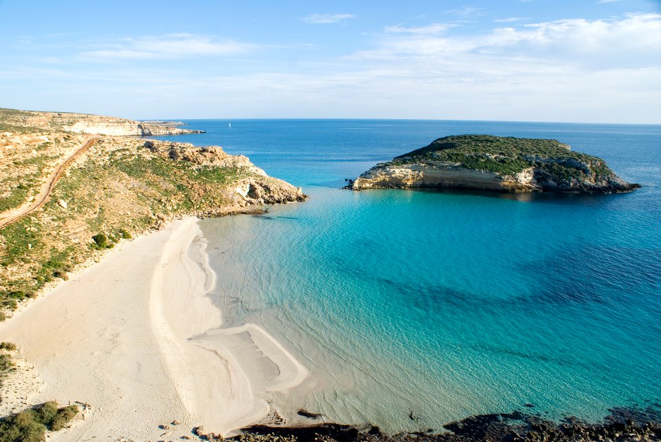 most beautiful beaches in Italy - the beach of rabbits