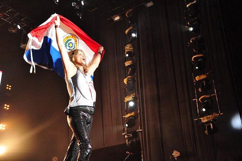 steven tyler origini italiane- Steven Tyler in Paraguay