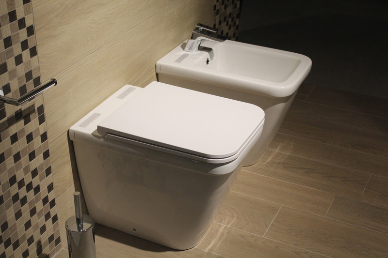 April 1st - Bidet and WC in a bathroom