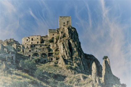 Craco - image of the town