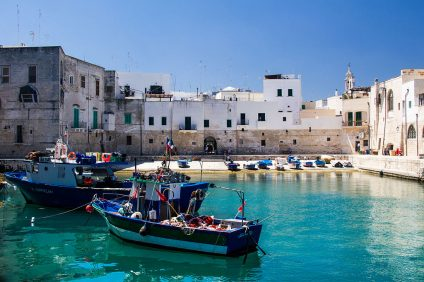 The ancient port of Monopoli