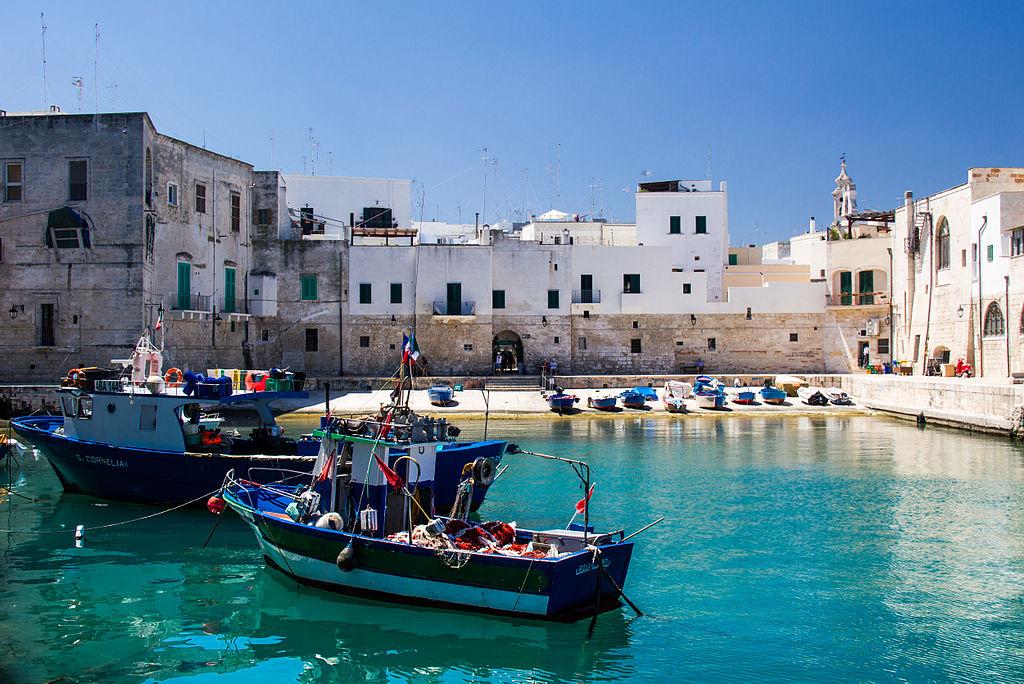 The ancient port of Monopoli