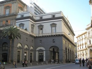 The wonderful Teatro San Carlo in Naples