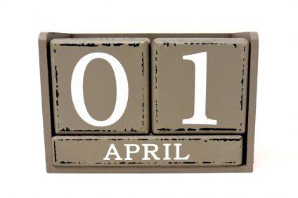 Primo aprile - E' arrivata la data sul calendario
