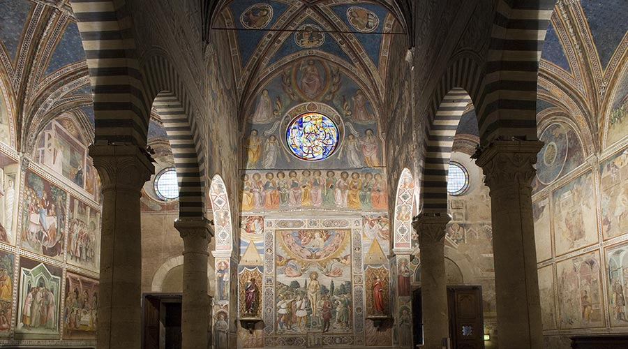 Interior of the Cathedral of San Gimignano