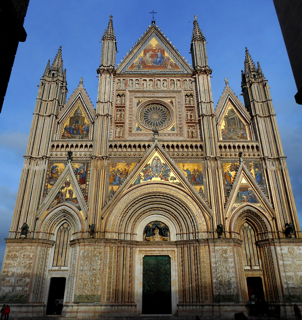 The Cathedral of Orvieto is a cathedral of unparalleled beauty