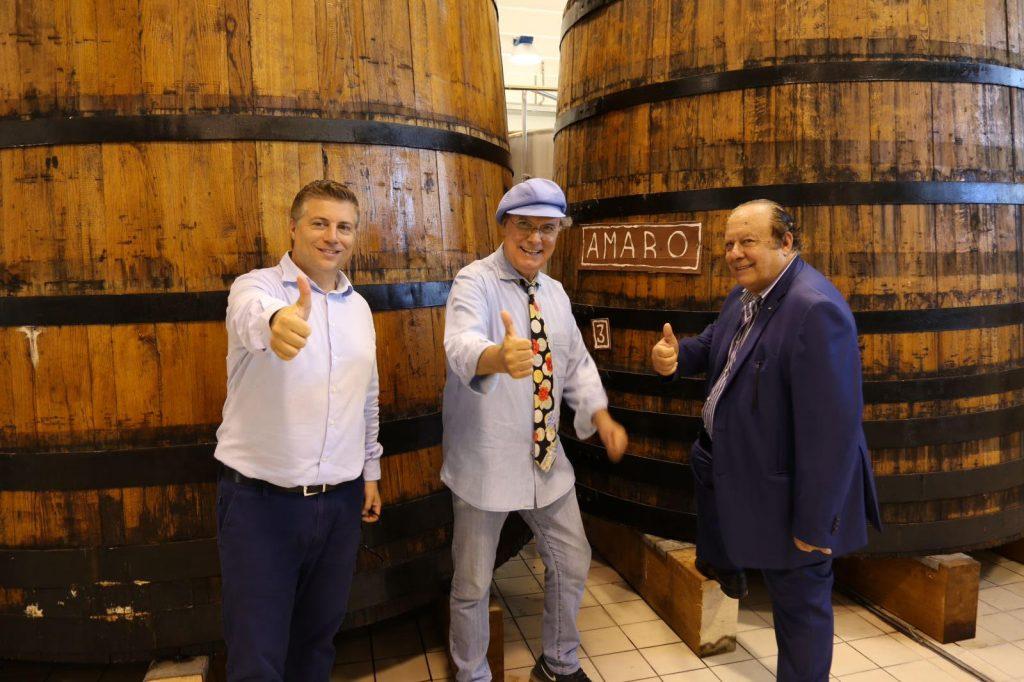 La Distilleria Caffo ospita personaggi famosi