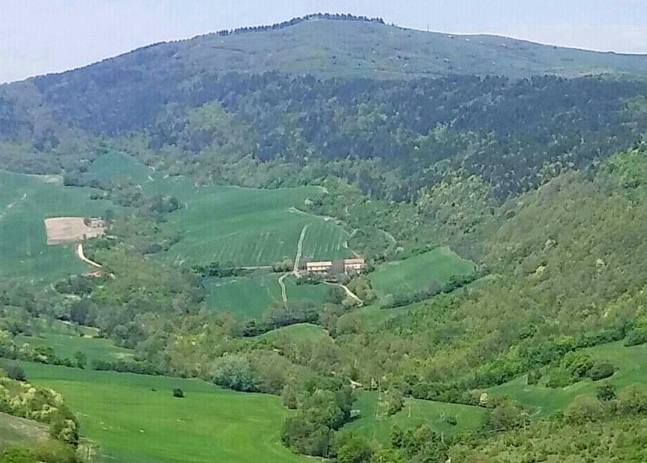 Bubble Room - La vista del monte Cornacchia con vista da Faeto