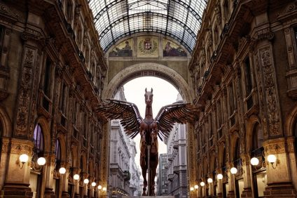 Salone del Mobile 2019 - Pegasus in the center of Milan