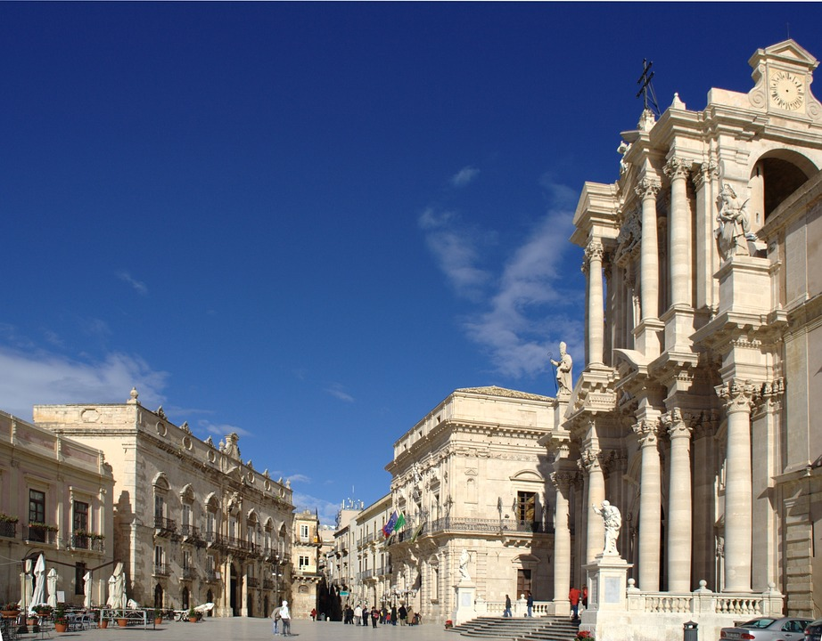 Syracuse - the baroque center of the city