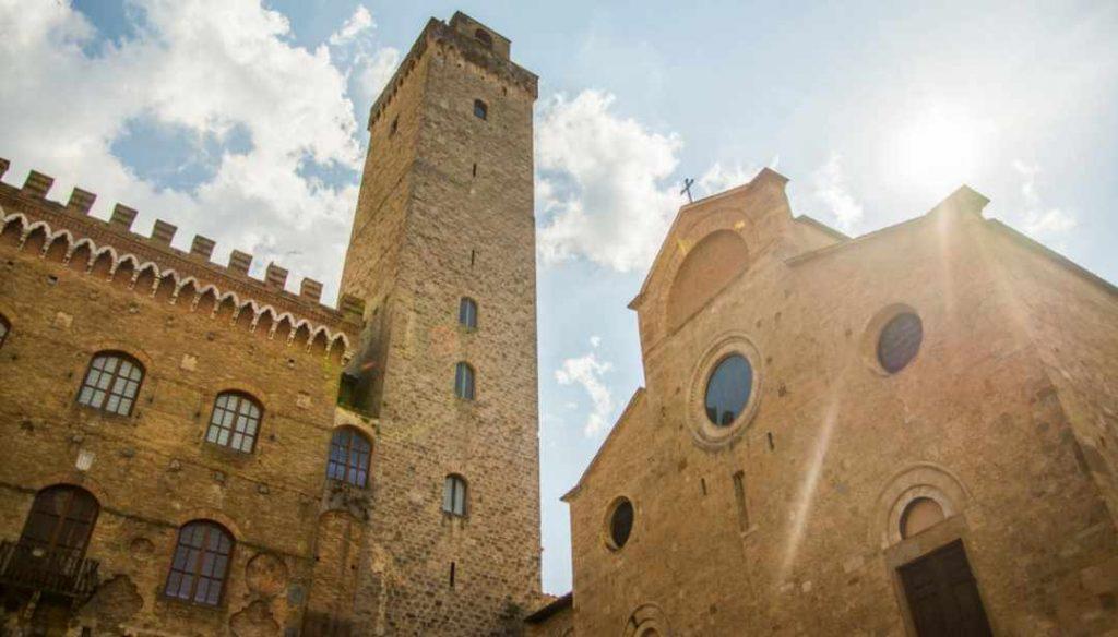 Rognosa Tower of San Gimignano