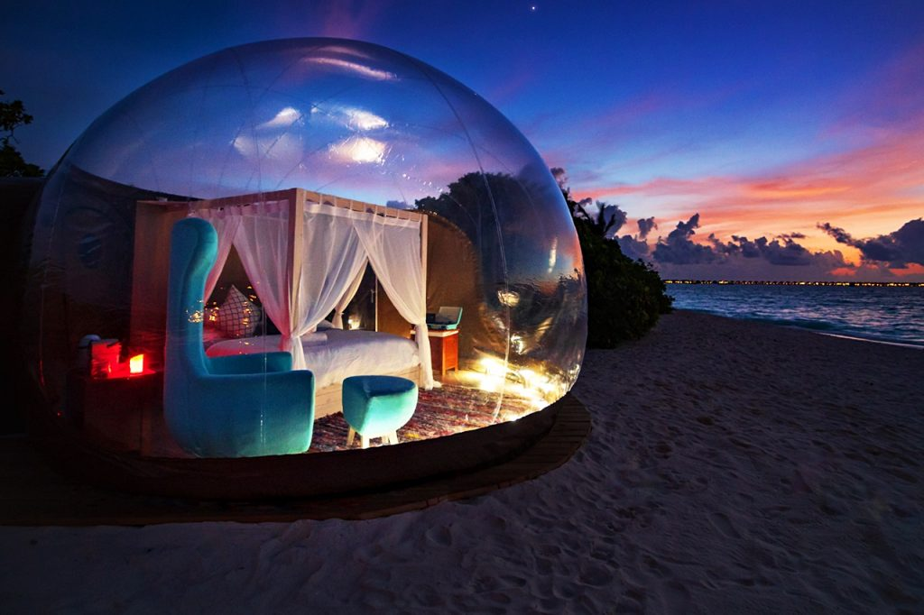 Una bubble room