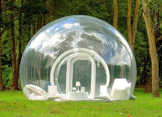 Repertoire image of a bubble room used by the mayor Mignogna on facebook