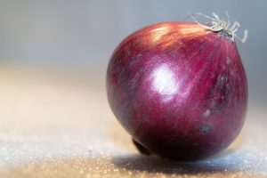 Tropea onion. Onion of which stands out the purple rind