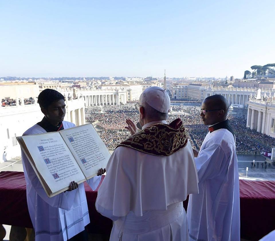 la benedizione urbi et orbi del papa