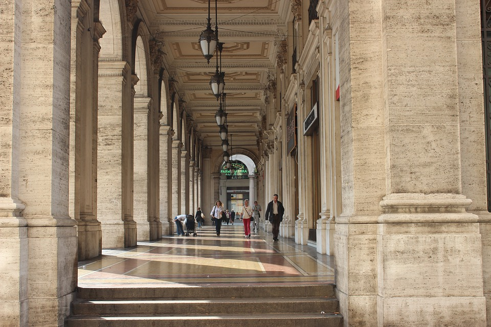 portici della città di Genova