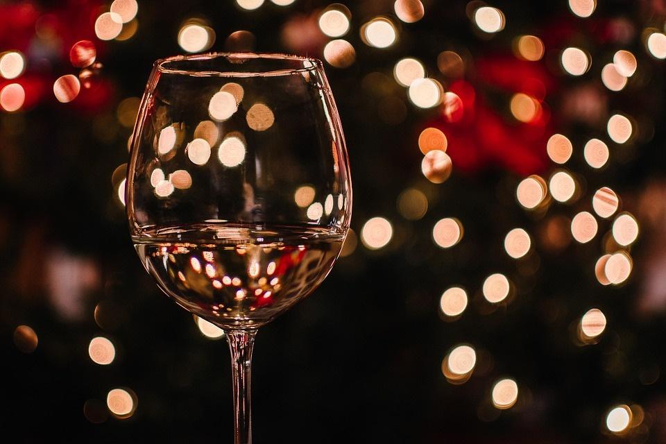 vinitaly - calice di vino