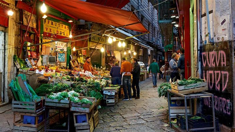 La bellezza siciliana nel cibo: il Mercato della Vucciria