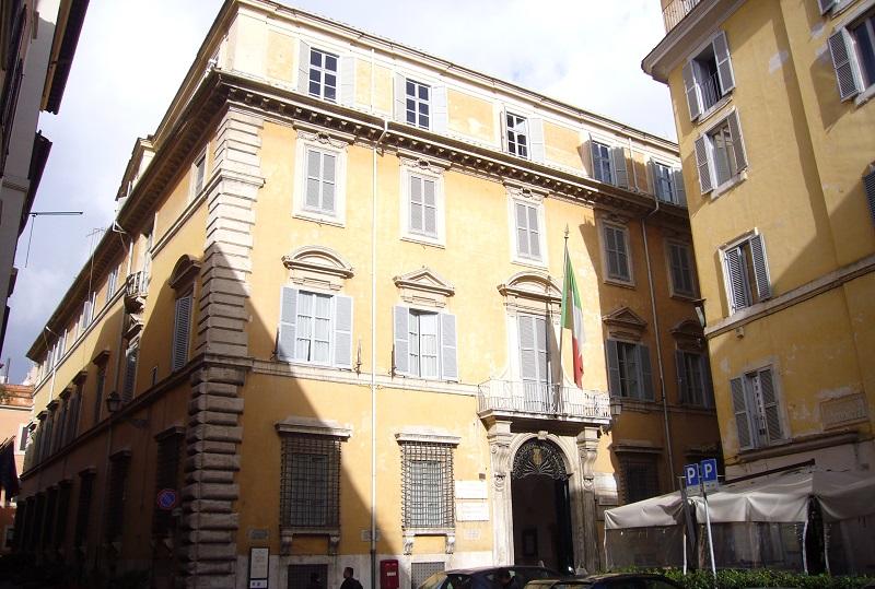 Alessandro Masi - Palazzo Firenze, sede del Comitato centrale della Società Dante Alighieri