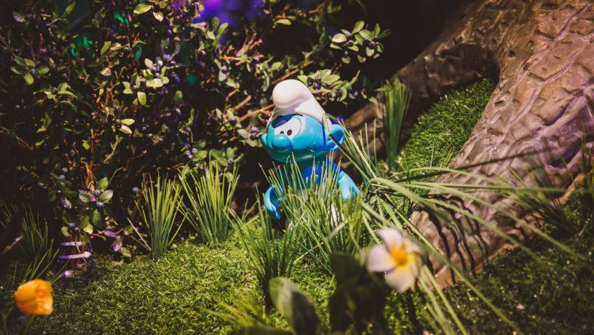 Smurfs' village: a little smurf around