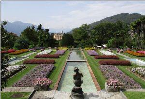 Le aree del giardino più bello del mondo