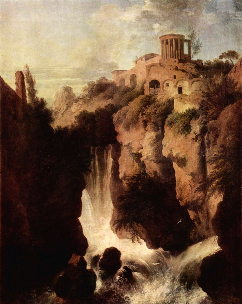 tivoli - villa gregoriana