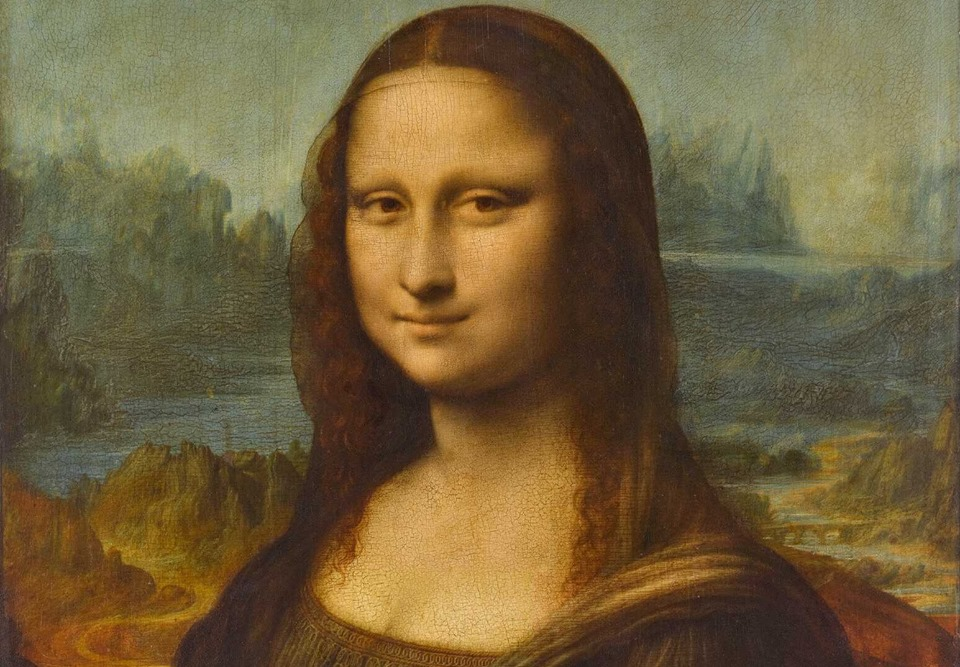 the Gioconda painted by Leonardo da Vinci and exhibited at the Louvre in Paris