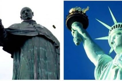 the statue of liberty - the statues compared