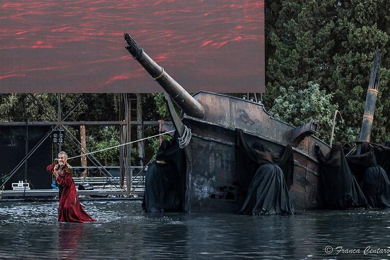 L'interprete di Menelao Sax Nicosia per la stagione Inda