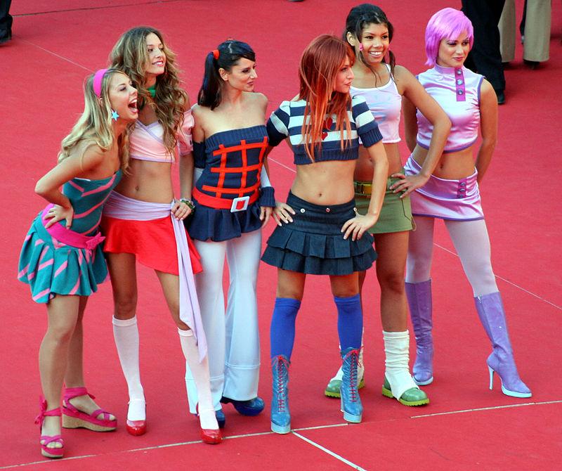 foto delle ragazze che impersonano nel winks