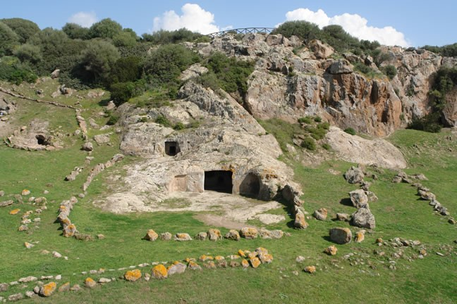 Exterior of the Necropolis of Montessu