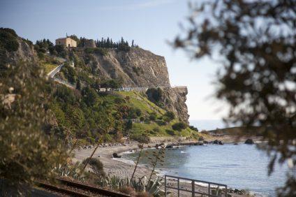 La spiaggia di Rocca del Capo a Bova Marina