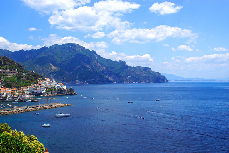 out-of-doors -View of the Amalfi Coast