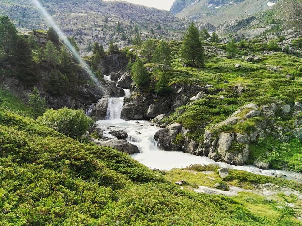 Rutor waterfalls
