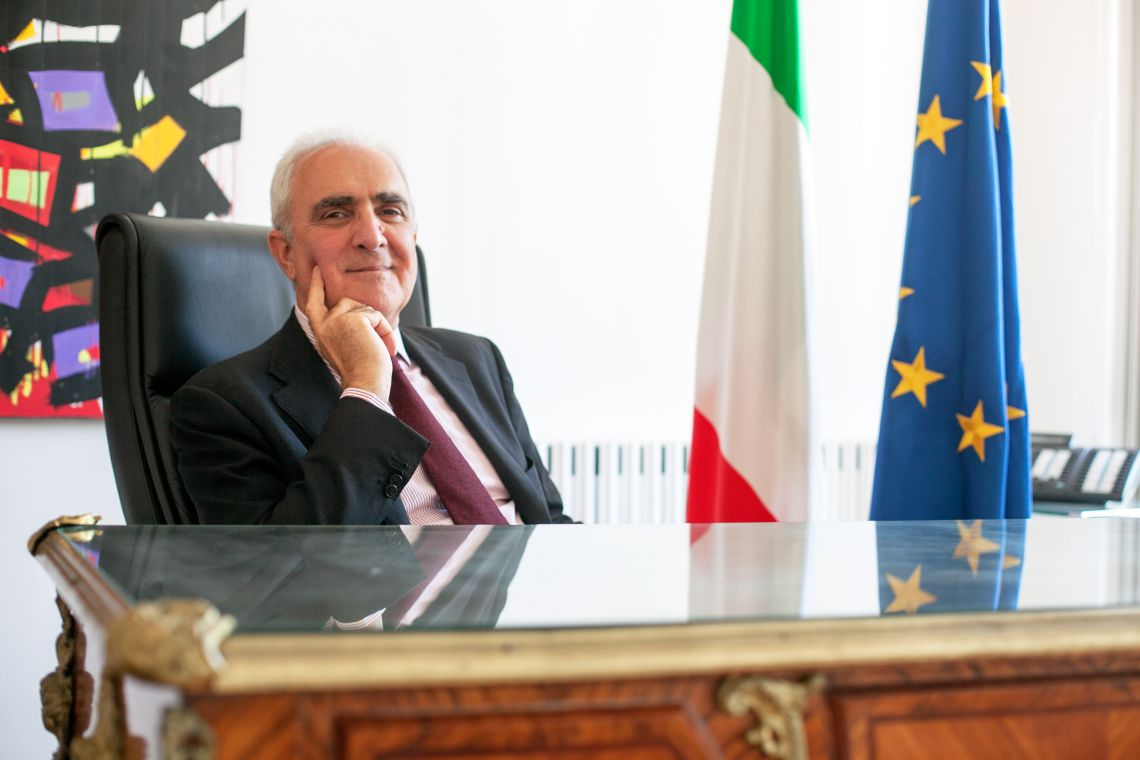 Mario Sammartino Ambasciatore d'Italia a Malta