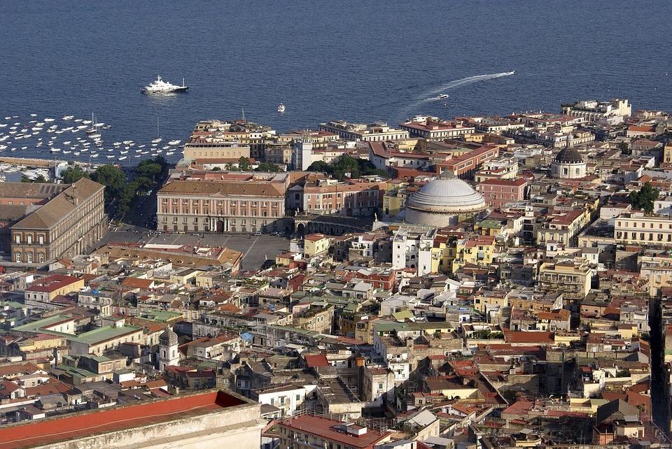 universiadi a Napoli - panorama della città