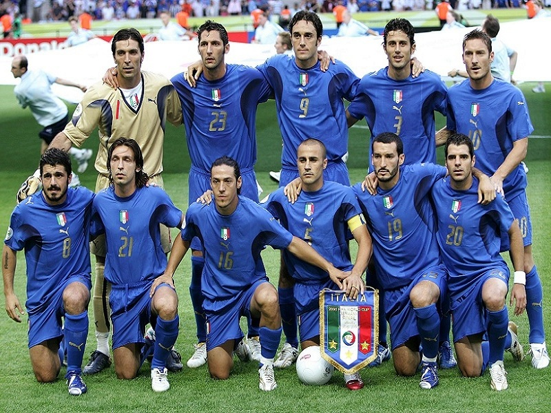 Football players: the 2006 national team