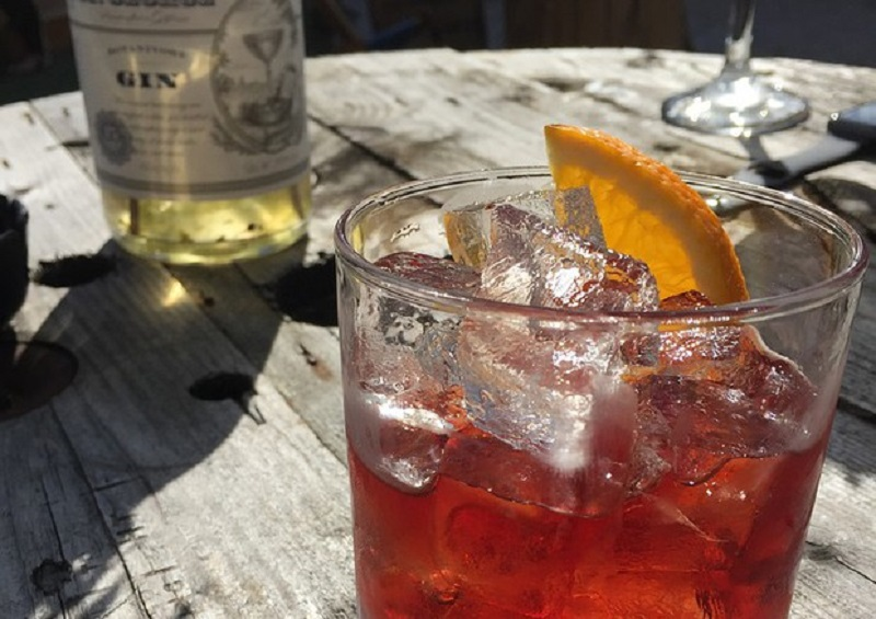 The Negroni is an Italian drink