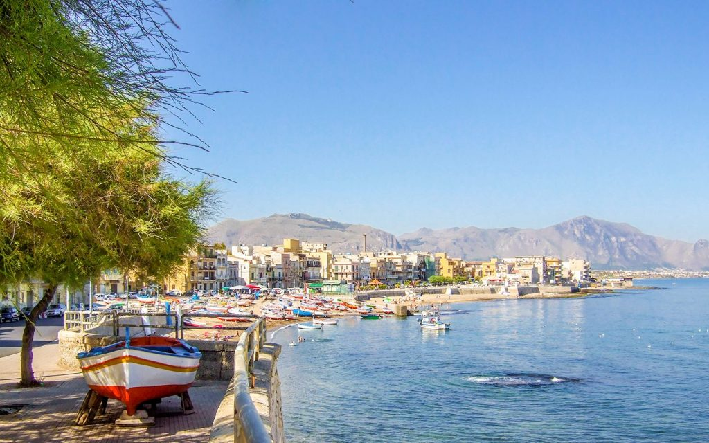 Bagheria is one of its most beautiful seaside views