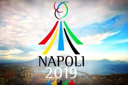 universiadi in Naples - advertising image of the event