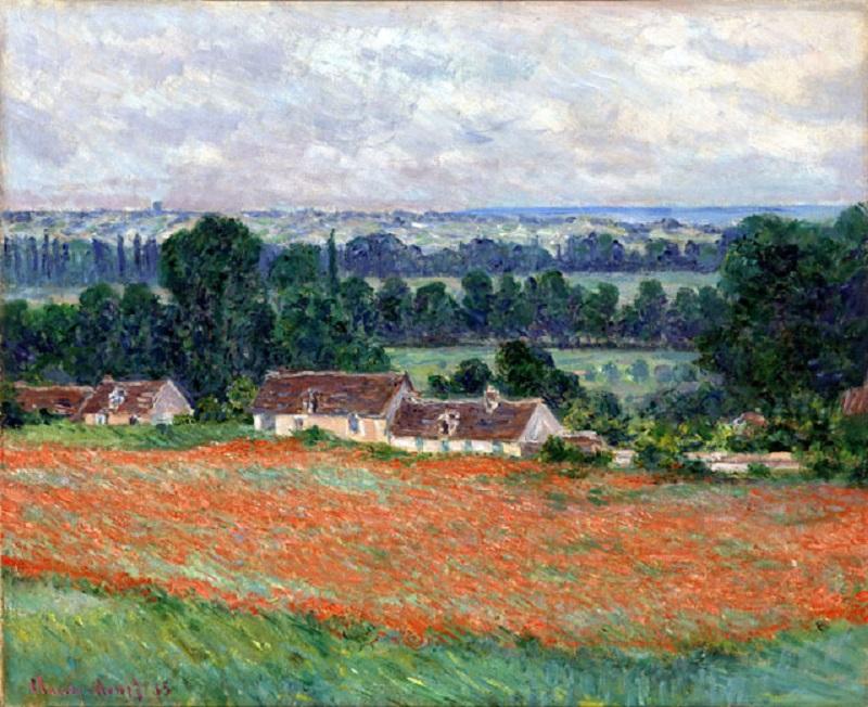 Dipinto di Monet esposto alla mostra