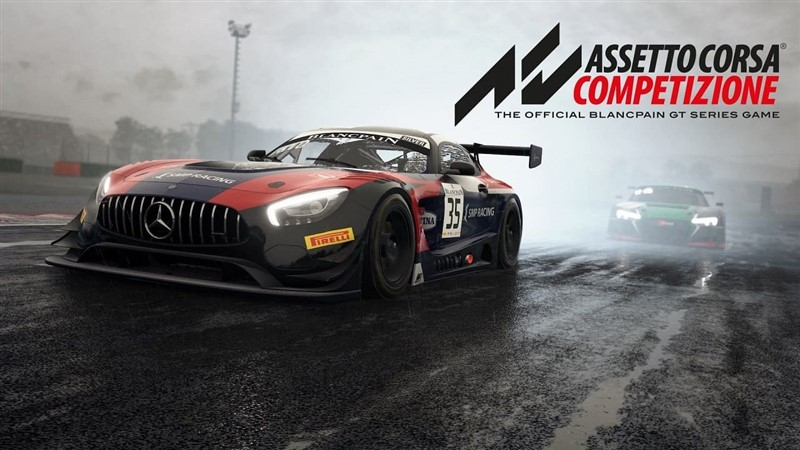 La copertina di Assetto Corsa Competizione