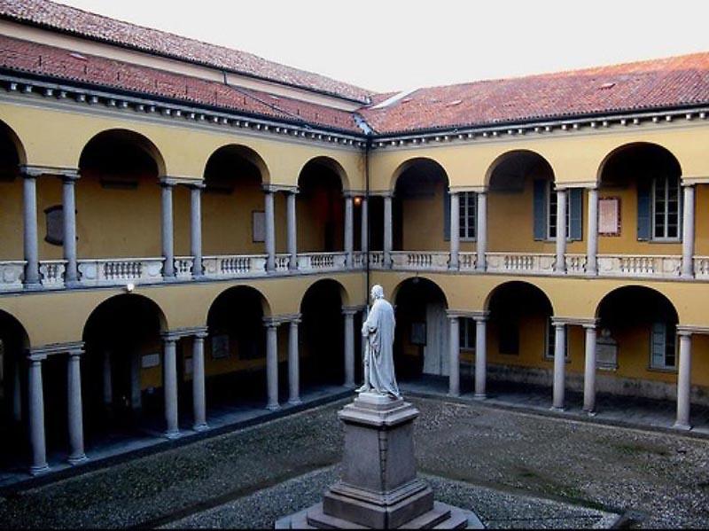 University complex of Pavia