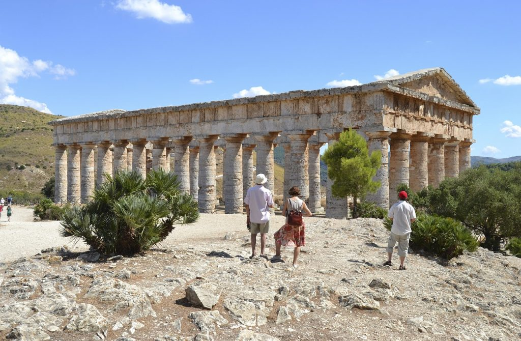 Terme di Segesta - antico tempio